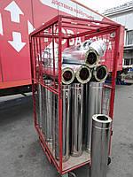 Дымоход сэндвич (толщина 0,5мм) AISI304