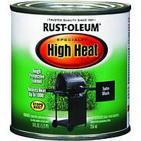 Эмаль термостойкая High Heat, матовая черная - 0.94л