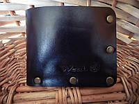 Чоловічий гаманець, мужской кожаный кошелек «Modern», натуральна шкіра, ручна робота, фото 1