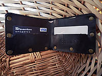 Шкіряний гаманець «Modern», натуральна шкіра, ручна робота, фото 1