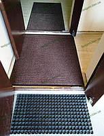 Ковер грязезащитный Ибица, 100х130см., коричневый