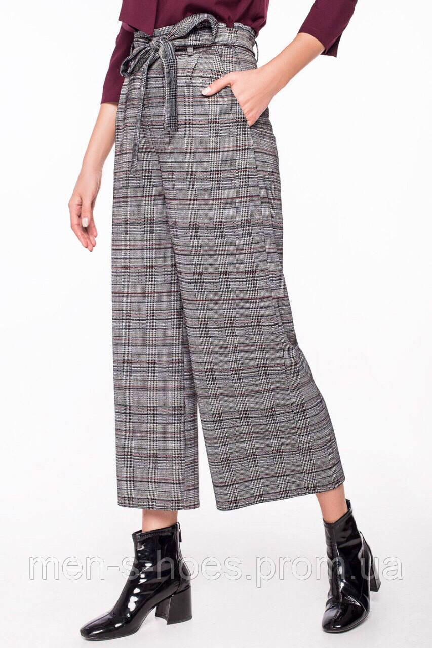Кюлоты брюки  женские из теплого трикотажа.