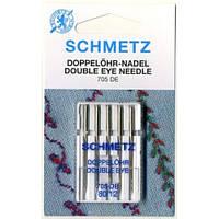 Иглы с двумя ушками Double eye 705 DE 80