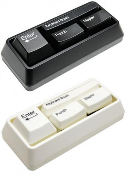 Канцелярский набор комьютерные Клавиши Желтый цвет