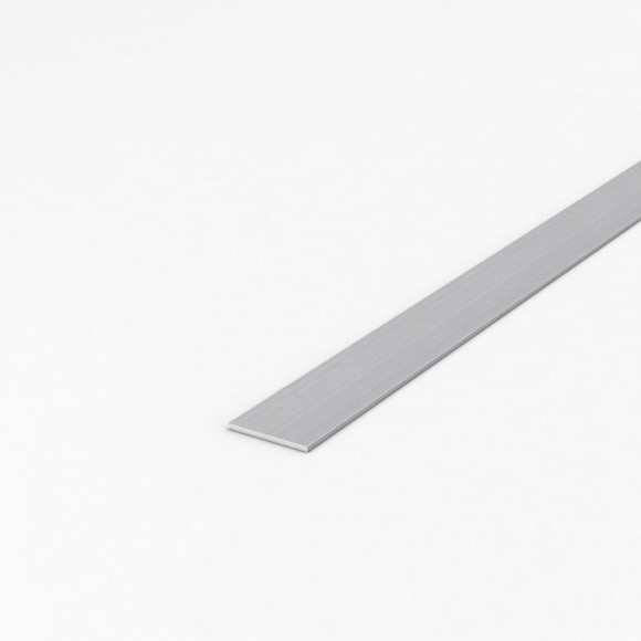 Алюмінієва смуга (шина) шириною 30мм товщиною 2мм анодована
