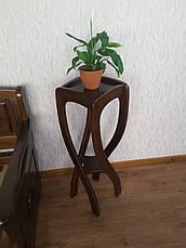 """Напольная подставка под вазоны из натурального дерева """"Адель"""", фото 3"""