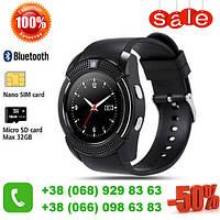 Умные смарт-часы Smart Watch V8 Black! Скидка 50%!