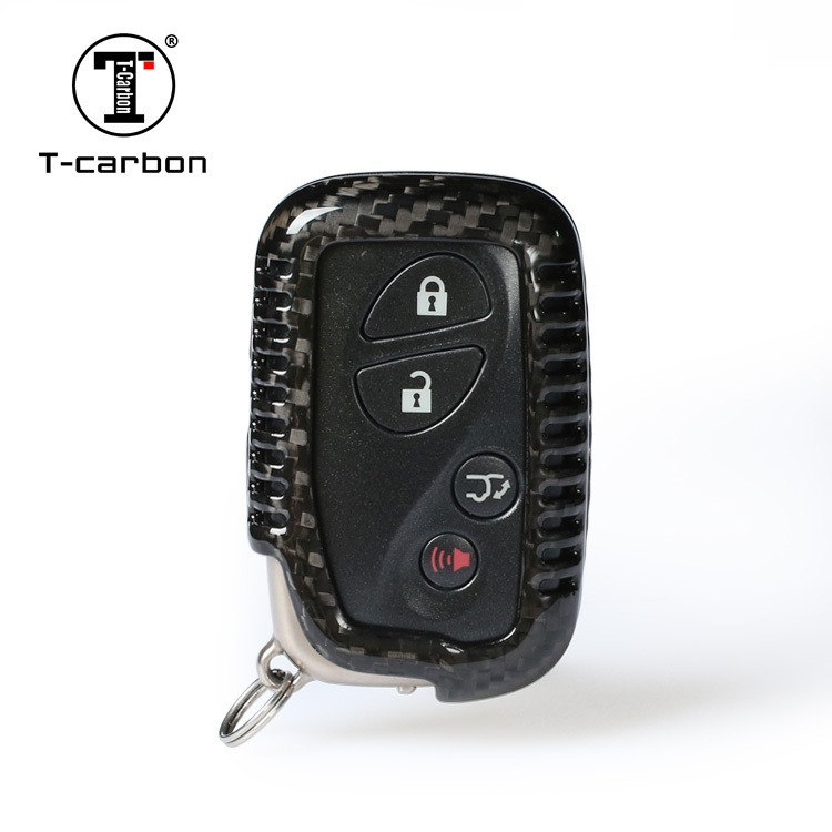 Карбоновый чехол для ключа Lexus LS,GX 470,RC,IS,ES,GS,RX,LX,LC,SC,NX