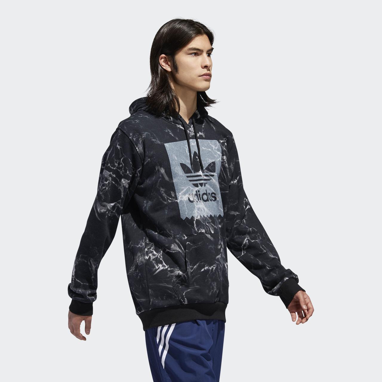 Мужская толстовка Adidas Originals Marble Print (Артикул: DH3922)