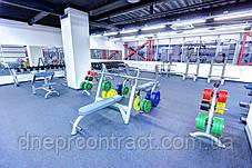 Резиновые рулонные покрытия для тренажёрных залов Rephouse, фото 3