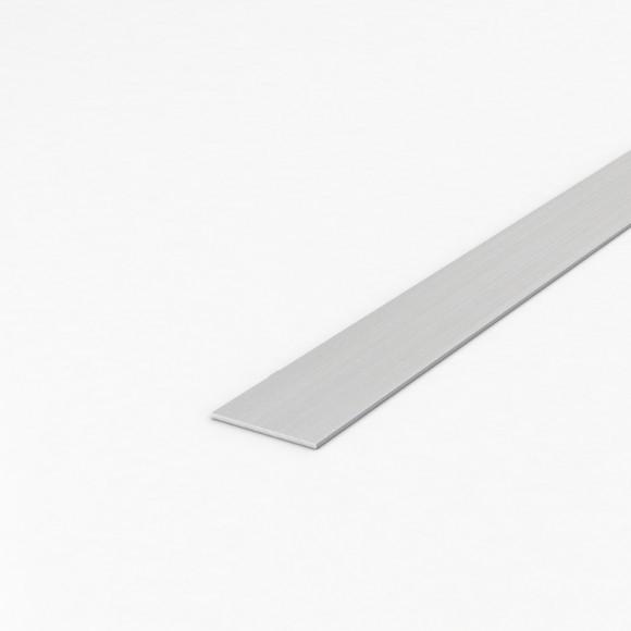 Алюмінієва смуга (шина) шириною 40мм товщиною 3мм анодована