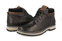 Кожаные  мужские зимние ботинки Maxus, фото 1