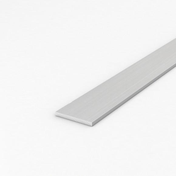 Алюмінієва смуга (шина) шириною 50мм товщиною 5мм без покриття