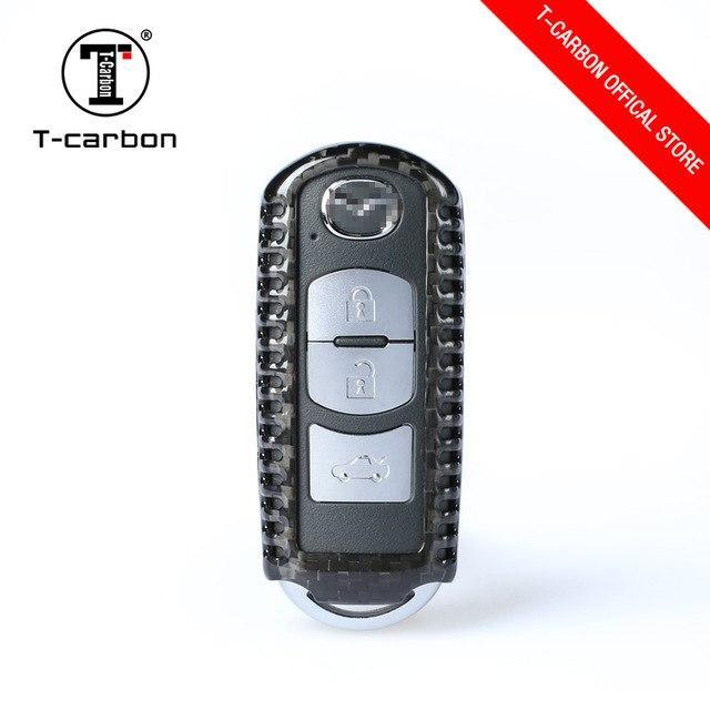 Карбоновый чехол для ключа Mazda 2,3,5,6,8 MX5 CX5,9