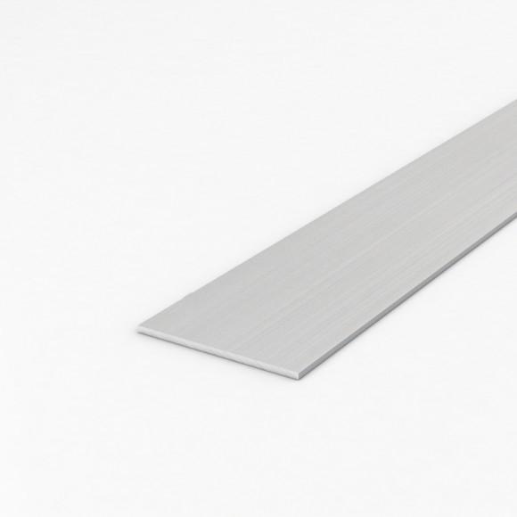 Алюмінієва смуга (шина) шириною 75мм товщиною 3мм без покриття