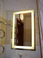 Зеркало с подсветкой для ванной комнаты на заказ