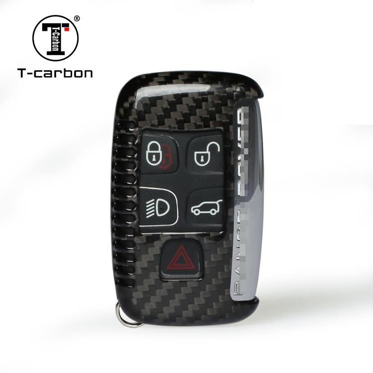 Карбоновый чехол для ключа Range Rover Discovery,Evoque,Freelander,Land,Sport