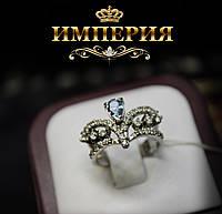 Кольцо Корона женское серебряное