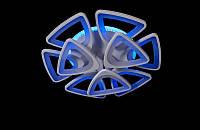 Люстра светодиодная потолочная 5548/6+3 LED DIMMER, фото 1
