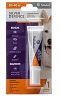 Каплі на холку SILVER DEFENCE від бліх, кліщів та комарів для собак масою 30-40 кг.