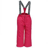Зимние детские брюки 5-12 лет р. 110-152  FREJA ТМ HUPPA 21700016-00063 розовые