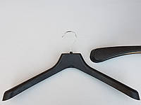 Плечики вешалки тремпеля K42 черного цвета, длина 42 см