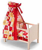 Кроватка с балдахином для куклы, Bayer Chic