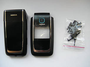 Корпус Nokia 6125 чёрный с клавиатурой class AAA, фото 2