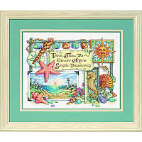 Набор для вышивания Dimensions 13696 Simple Theasures Cross Stitch Kit, фото 1