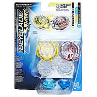 Бейблейд Эволюция 2 волчка Оригинал Орфеус и Юникрест Hasbro Beyblade Burst Evolution Orpheus and Unicre