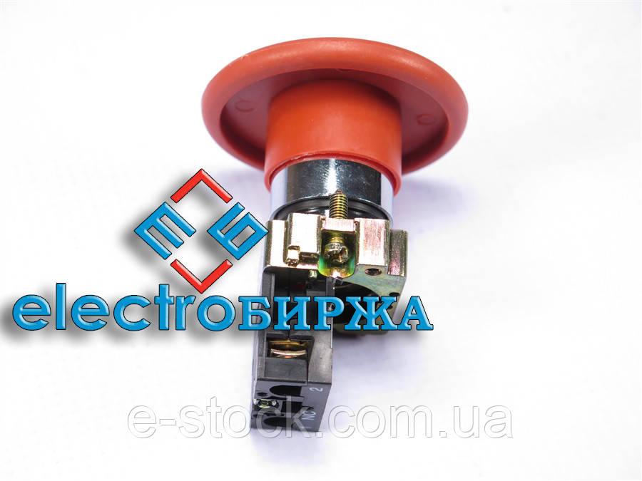 "XB2-BR42 Кнопка ""грибок"" (d 60 мм) ""Стоп"" красная"