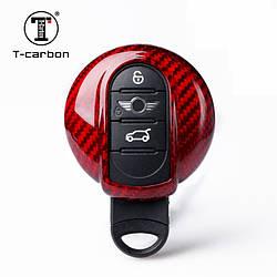 Карбоновый чехол для ключа MINI Cooper D S SD,One,Clubman,Cabrio,Countryman BMW