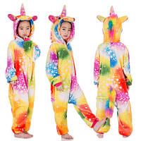 Кигуруми Единорог разноцветный, рост 130-140 см