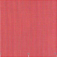 Ткань для штор в стиле прованс красная в клетку