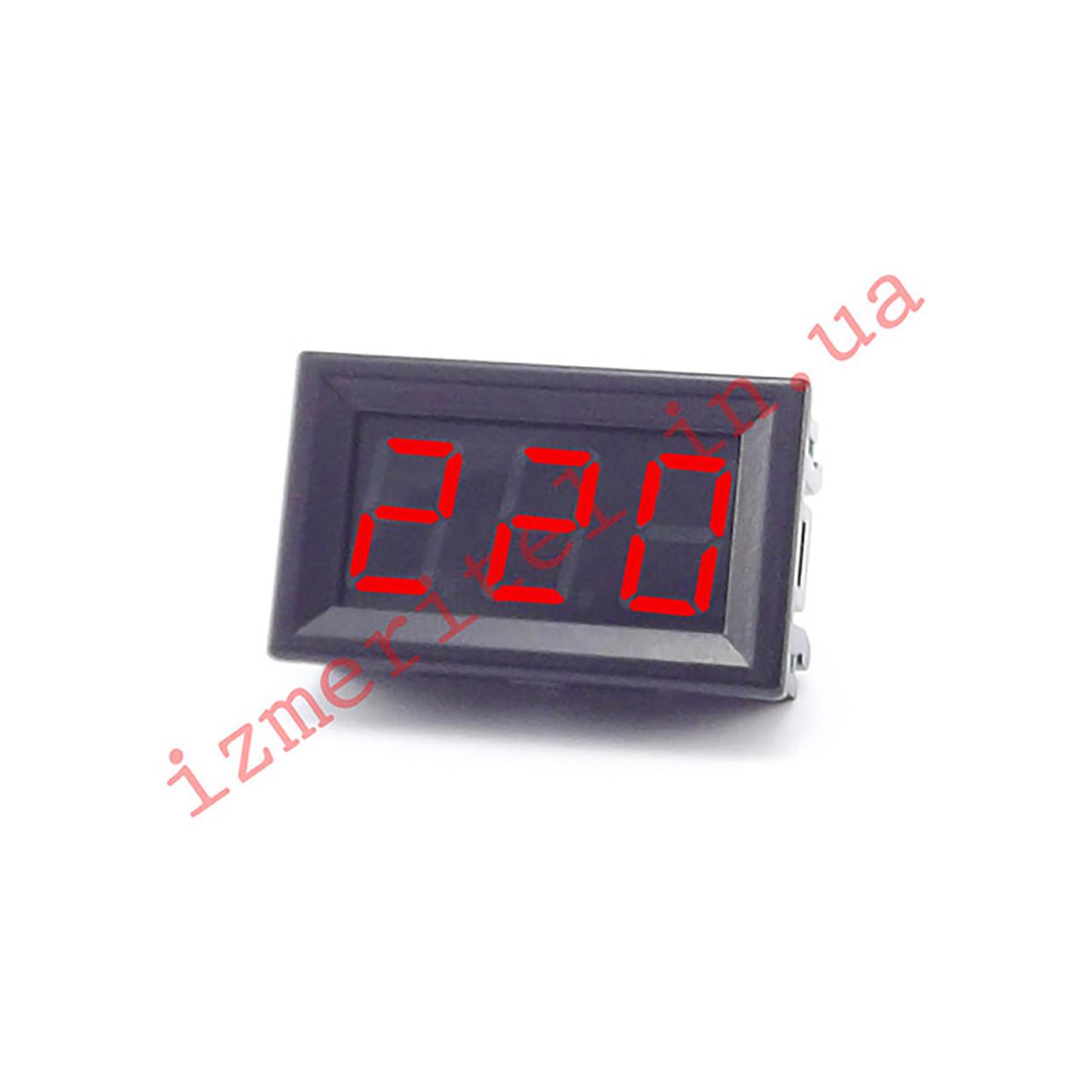 Цифровой вольтметр AC 75-300 В