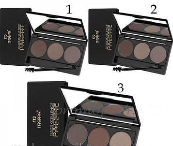 Тіні для брів Malva Cosmetics Excellence Palette Eyebrow Highlight РМ5001