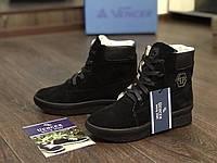 Женские ботиночки Vencer (замшевые), фото 1