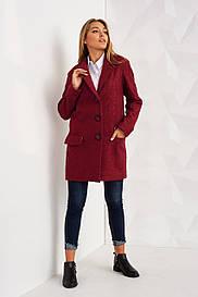 Яркое классическое пальто 2377