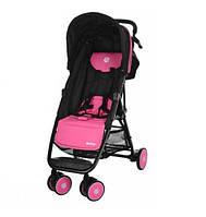 Прогулочная коляска El Camino Motion M 3295-8, розово-черная