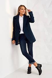 Яркое классическое пальто 2495