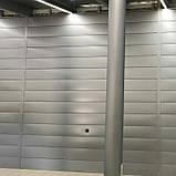 "Фасадные панели ""Либерти"" PE 25 мк от 0,45 мм глянец Ral 9006 vtnfkkbr, Италия Arvedi, фото 2"