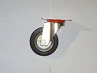 Колесо поворотное с крепёжной панелью d=100