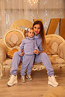 Костюм мама и дочка св стиле FAMILY LOOK, парная одежда, фэмили лук