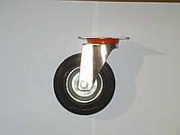 Колесо поворотное с крепёжной панелью d=125