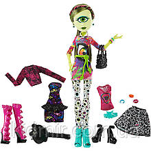 Кукла Монстр Хай Айрис Клопс Monster High Iris Clops I love Fashion
