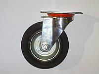 Колесо поворотное с крепёжной панелью d=160