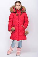 Куртка зимняя  для девочки  ZKD-8 рр 122-152