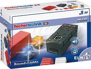 Додатковий набір Fisсhertechnik PLUS Набір LED підсвічування і звуковий контролер