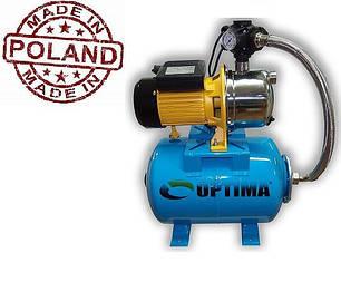 Насосная станция 1,3 кВт Optima JET 150S-24 (нержавейка) (Польша), фото 2