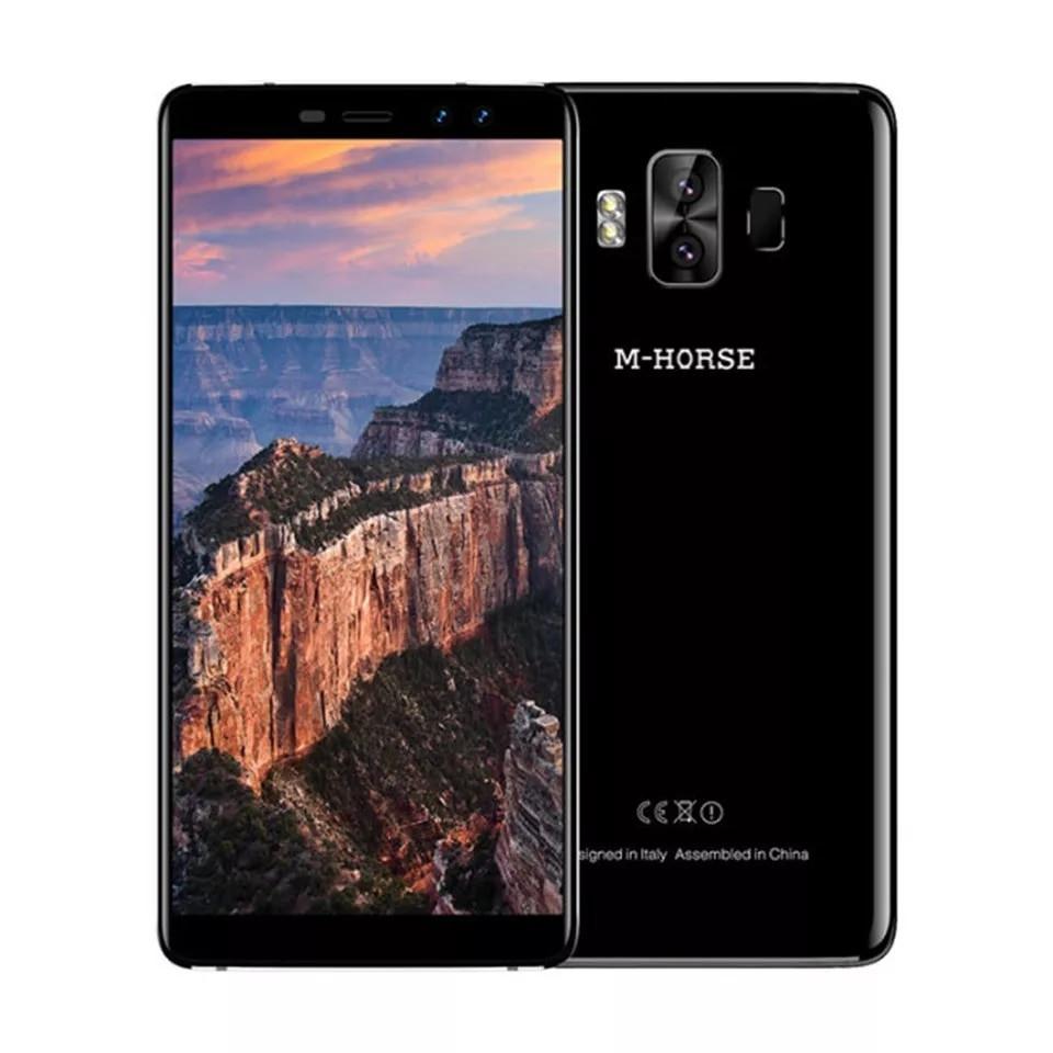 """Смартфон M-Horse Pure 1 Black, 18:9, 4G 5.7"""" 3/32Gb, 4380 mAh"""